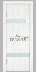 Дверь межкомнатная DO-502 Белый глубокий/стекло Белое