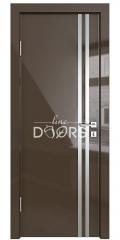 Дверь межкомнатная DG-506 Шоколад глянец