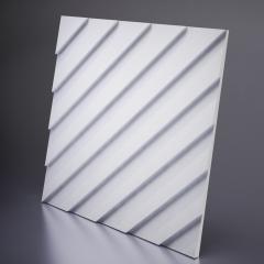 Гипсовая 3D панель LAMBERT Platinum материал глянец 600x600 мм