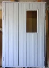 Техническая деревянная дверь ДНО 22-14ПЩР