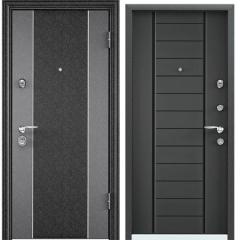 Дверь TOREX SUPER OMEGA 10 MAX Черный шелк / Темный-пепел RS-9
