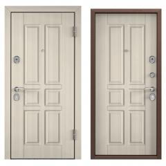 Дверь TOREX DELTA-M 10 COMBO Белый перламутр / Белый перламутр