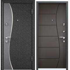 Дверь TOREX SUPER OMEGA 10 MAX Черный шелк / Молочный шоколад RS-14