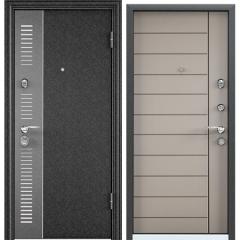 Дверь TOREX SUPER OMEGA 10 MAX Черный шелк / Кремовый ликер