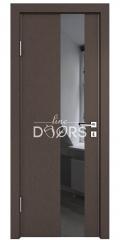 ШИ дверь DO-604 Бронза/стекло Черное