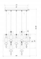 Подвесной светильник Maytoni ARM006PL-07G