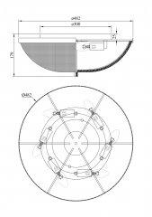 Потолочный светильник Maytoni C046CL-06N