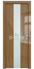 Дверь межкомнатная DO-510 Анегри темный/стекло Белое