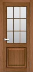 Дверь мебель массив Генуя 2 ПО Светлый дуб