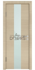 ШИ дверь DO-610 Неаполь/стекло Белое