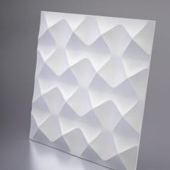 Гипсовая 3D панель AURA 600x600x33 мм