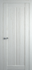 Дверь мебель массив Неаполь 1 ПГ Эмаль ral 9010 дуб
