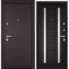Дверь TOREX SUPER OMEGA 100 RAL 8019 / Венге
