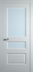 Дверь мебель массив Болонья 2 ПО (Эмаль белая)