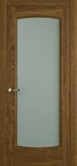Дверь мебель массив Алтея ПО Светлый дуб