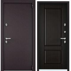 Дверь TOREX SNEGIR 55 MP RAL 8019 / Венге