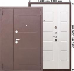 Входная дверь Ferroni 7,5 Гарда Белый ясень