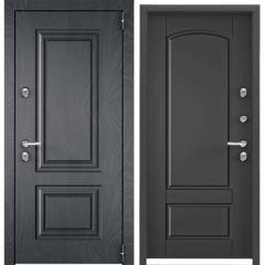 Дверь TOREX SNEGIR 55 PP ФМ Ирландский серый / СТ Графит матовый