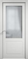 Дверь мебель массив Кантри 2 ПО (Эмаль Белая Дуб)