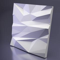Гипсовая 3D панель STELLS 2 Platinum материал патина/софттач 600x600 мм