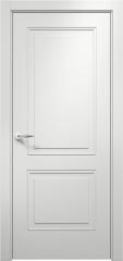 Дверь мебель массив Альфа 2 ПГ (Эмаль Белая)