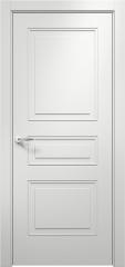 Дверь мебель массив Альфа 3 ПГ (Эмаль Белая)