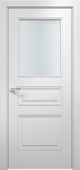 Дверь мебель массив Альфа 3 ПО (Эмаль Белая)