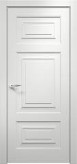 Дверь мебель массив Латина 4 ПГ эмаль белая