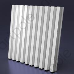 Гипсовая 3D панель REIKI 600x600x52 мм
