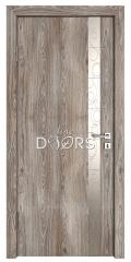 Дверь межкомнатная TL-DO-507 Кипарис/Смола металлик