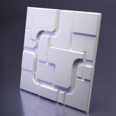 Гипсовая 3D панель SPACE 1 600x600x28 мм