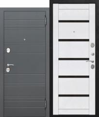Входная дверь Ferroni 10,5 см ЧАРЛСТОН Царга БЕЛЫЙ ГЛЯНЕЦ