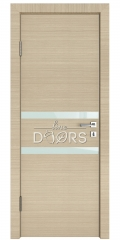 Дверь межкомнатная DO-513 Неаполь/стекло Белое