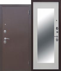 Входная дверь Ferroni Царское зеркало МАКСИ Белый ясень