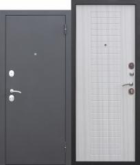Входная дверь Ferroni Гарда МУАР 8 мм Белый ясень