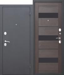 Входная металлическая дверь Ferroni Гарда МУАР ЦАРГА Темный кипарис