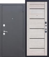 Входная металлическая дверь Ferroni Гарда МУАР ЦАРГА Лиственница мокко