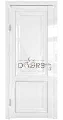 Дверь межкомнатная DG-PG1 Белый глянец