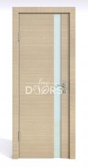 Дверь межкомнатная DO-507 Неаполь/стекло Белое