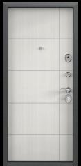 Дверь TOREX DELTA-100 Черный шелк / Шамбори светлый ПВХ Бел шамбори