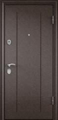 Дверь TOREX DELTA-100 Медный антик / Венге поперечное ПВХ Венге поперечное