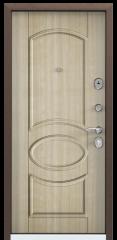 Дверь TOREX DELTA-100 Медный антик / Венге светлое ПВХ БЕЛ венге