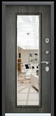 Дверь TOREX DELTA-112 Черный шелк / Дуб пепельный Дуб пепельный