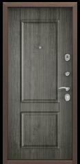 Дверь TOREX DELTA-112 Медный антик / Дуб пепельный Дуб пепельный