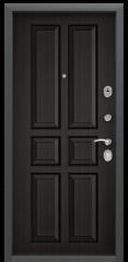 Дверь TOREX DELTA-M 10 COMBO Черный шелк / Венге ПВХ Венге