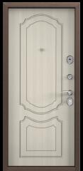 Дверь TOREX DELTA-M 10 COMBO Медный антик / Белый перламутр
