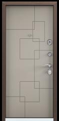 Дверь TOREX DELTA-M 10 Кремовый ликер ПВХ кремовый ликер / Кремовый ликер ПВХ кремовый ликер