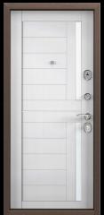 Дверь TOREX DELTA-M 10 Медный антик / Лиственница белая ПВХ Лиственница белая