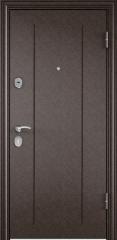 Дверь TOREX DELTA-M 10 Медный антик / Венге поперечное ПВХ Венге поперечное