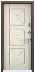 Дверь TOREX DELTA-M 10 Слоновая кость ПВХ слоновая кость / Слоновая кость ПВХ слоновая кость
